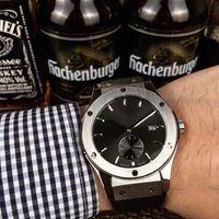 Wholesale Men Rubber Clothes - 2017 business classic luxury brand watch men clothing mechanical watch crime erkek kol saati waterproof