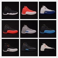 Wholesale Gifts Shoe Shaped - retro 12 basketball shoe shape key chains retro 1 3 4 5 6 11 14 12 13 gym pull up training gift wholesale