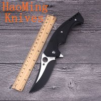 Wholesale HM New Camping Survival Folding Knife Bearing Flip Copy C196 Tactical Hunting Pocket Knives Outdoor Defense Rescue EDC Hand Tool Kitchenware