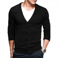 7ebed1180ef Knit male the new men s cultivate one s morality cotton cardigan leisure fashion  men s wear thin sweater big yard