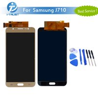Wholesale Screen Replacement Tools - A+++ Quality LCD For Samsung Galaxy J710 J710F J710FN Good Repair Replacement Part+Free Tools+ Free Shipping