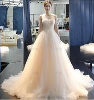 Wholesale Oem Wedding Dresses - 2017 OEM bridal Gowns Custom made Vintage Sweetheart Ivory Color Wedding Dress Court Train Holy Wedding Dresses