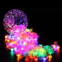 Wholesale Paper String Light Lanterns - 100pcs LED Balloon Light,Floral Light,Balloon Lamp Paper Lantern Wedding Birthday Party Decoration.LED String Light Christmas Home Decorn