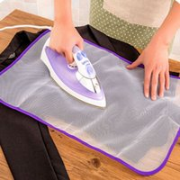 Wholesale NEW Home use Protective Heat insulation Press Mesh Ironing Cloth Guard Protect Delicate Garment Clothes