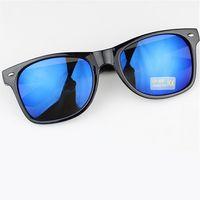 Wholesale Vintage Masculine - Wholesale-16 Colors Fashion Women Men Sunglasses Retro Mirrored Sun Glasses Vintage Feminine Masculine Glasses Ourdoord Goggles