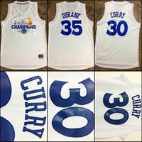 Wholesale Wholesale Binding - 2017 30 Stephen USA Curry MCGEE Kevin Durant White Klay Thompson Draymond Green Jersey Finals Champions Bound Gametime Shooter 11 TShirt