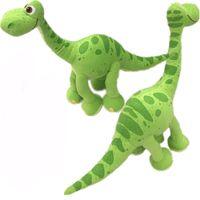 Wholesale Good Halloween Movies - Pixar Movie The Good Dinosaur Green Arlo Dinosaur Stuffed Animals Plush Soft Toys for kids gift