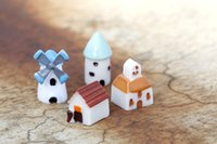 Wholesale Cartoon Windmill - The windmill house Moss micro landscape furnishing articles Fleshy decorative landscape Creative arts and crafts Building castles
