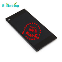 Wholesale Mi3 M3 - Xiaomi 4 M3 Mi3 Lcd screen Original Lcd display+Touch panel assembly replacement For Xiaomi Mi4 Smart phone In Stock+Free Ship