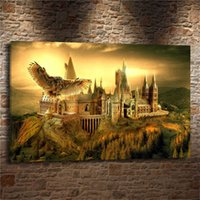 Wholesale harry potter painting for sale - Group buy harry potter hogwarts Home Decor HD Printed Modern Art Painting on Canvas Unframed Framed