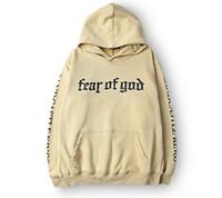 hochwertige sweatshirts großhandel-Männer Marke Angst vor Gott Hoodie Beige Zweck Tour Sweatshirt Gorilla Wear Hiphop Sweatshirt Skateboard Wes Qualität Hoodies