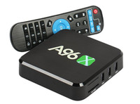 Wholesale Asf Mpeg - 2017 NEW A96 Android TV Box A96X Amlogic S905X Quad Core Smart Box TV Android  8GB with Wifi 4K1080p Set Top Box