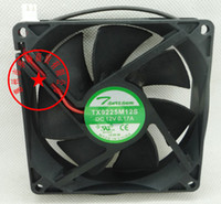 Wholesale fan case 8cm for sale - Group buy New Original TX8025L12S V A cm cooling fan CM TX9225M12S TX8025M12S