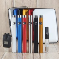 Wholesale E Cigar Cartridges - Mini CE3 Box Kit With 280mAh Battery Oil Bud Touch Vaporizer O Pen Vape 510 Thread Cartridge USB Charger Box Case e cigar