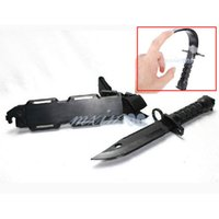 Wholesale Cosplay Game Models - Wholesale-New 1 Pcs manoeuvre War Games Cosplay Trick Prank WG ABS Soft Plastic Fake Knife Model Knife Toy Soft For Children Toys F