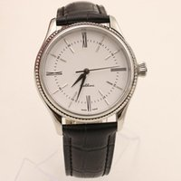 Wholesale Nice Automatic Watches - 2015 New Products Men's Watch Mechanical Automatic Movement Nice Men Cellini Sapphire Glass Mens Business Leather Strap Watches.