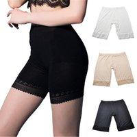 Wholesale Bamboo Women Boxer Underwear - Safety Short Pants Underwear For Women Boxer Briefs Shorts Lady Sexy Boyshort Panties