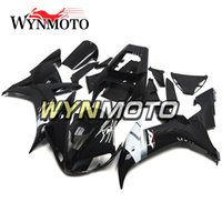 Black White Fairings pour Yamaha YZF R1 2002 2003 Injection ABS Motorcycle Cowlings Moto kit de carénage Carrosserie Cadres Carenes Kits de carénage