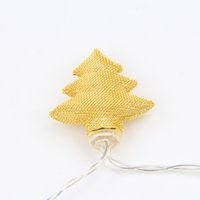 Wholesale lights for outdoor ornaments - Christmas Lron String Lights LED battery models Christmas Light for Outdoor Patio Lawn Landscape Garden Home Wedding Holiday