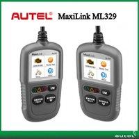 Wholesale Auto Diagnostic Scan - Wholesale- Auto Diagnostic Scan Tool Autel MaxiLink ML329 OBD II & CAN Code Reader New Version of Autel AL319 Update Code Scanner