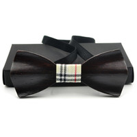 Wholesale Mens Designer Bow Ties - 2017 New Arrival Brand Mens Bowties Formal wear Business Party wedding Designer Bow Ties for men Corbatas gravatas WBT13