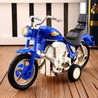 Wholesale Toy Motorcycle Boy - Plastic Motorcycle Toy Model Hobby Toys Replace Kids Gift Boys & Girls Random
