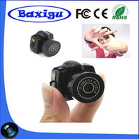 Wholesale Cheapest Hd Digital Video Camera - 2017 Hot Sale Cheapest Spy Mini Camera Y2000 720P HD Webcam Video Voice Recorder Micro Cam Smallest Camara Hidden Digital Mini Camera