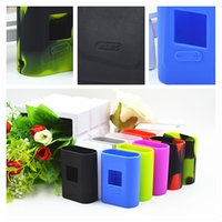 Wholesale Sleeve Bags - SMOK AL85 Silicone Case Bag Colorful Rubber Sleeve Smoktech AL85W Protective Cover Skin for Alien Baby Mini TC AL 85W Box Mod Kit