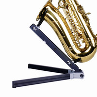 For Saxophone as pic SW101 wholesale Saxophone Stand   Bracket Band sax stand Easy to carry, foldable