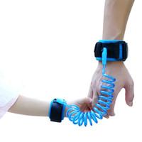 Wholesale Bracelet Children - 360 Rotating Toddler Baby Kids Anti Lost Strap Safety Harness Child Leash Anti Lost Wrist Link Traction Rope Bracelet Wrist Link
