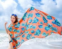 Chiffon Beach Dress Kittel Wickeln Bohemian Bikini Cover bis Sarong Braces Rock Sonnenschutz Schal Backless Beachwear Bademode Swimdress Schal