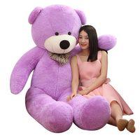 Wholesale Plush Coloured Teddy Bears - High quality teddy bear plush toys 5 colour valentine's day gifts Animal plush toys Christmas gifts