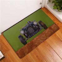 Wholesale American Front Doors - 20 Style Cartoon Car Print Carpets Anti-Slip Floor Mat Outdoor Rugs Front Door Mats 40X60 50X80cm