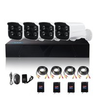 Wholesale Home Security Dvr 4ch - LS-AKA2 4CH AHD DVR kits 1080P AHD CCTV Camera System 4 channel Home Security Day Night Vision CCTV Dvr Kit ANN