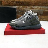 y3 zapatos hombres al por mayor-Zapatos casuales Y-3 QASA RACER Hight Sneakers 8 Style Men Women Zapatos casuales Yers Outdoor Entrenador Talla 36-45 modelo 188890721