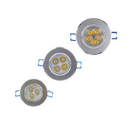 Wholesale cool wall lamps resale online - LED Ceiling Downlight W X3W W X3W W X3W LED Recessed Cabinet Wall Spot light Down Lamp Cold White Warm White