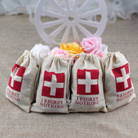 Wholesale High Quality Wedding Party Baby Shower Gift Candy Bags Cotton Gift Bags Birthday Party Favor