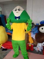 Wholesale Red Dragon Mascot Costume - Dragon Boat Festival dumplings Egg cartoon dolls mascot costumes props costumes Halloween free shipping