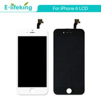 tela do telefone 4.7 venda por atacado-Display lcd para o iphone 6 touch screen digitador assembléia telefone peças de reposição 4.7