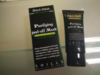 Wholesale Deep Cleansing Black Mask - SHILLS Deep Cleansing Black Mask Pore Cleaner 50ml Purifying Peel-off Mask Blackhead Facial Mask Free