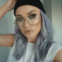 Wholesale Eyeglasses Frame Male - Wholesale- 2017 Brand Design Eyeglasses Women Glasses Clear Luxury Optical Spectacle Eyewear Frames Men Glasses Frames Female Male