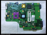 Wholesale laptop motherboards satellite - original for Satellite L505 laptop V000185070 A2302901 MB A02 GM45 DDR3 integrated motherboard fully tested