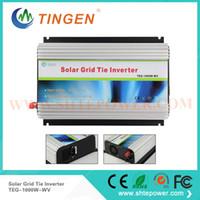 Wholesale 1kw Grid Tie Inverter - 220v 230v 240v 24v grid tie inverter 1kw dc input to ac output solar panel inverters pure sine wave