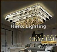 ingrosso passaggio corridoio-2017 nuovo arrivo moderno cristallo LED plafoniera K9 cristallo lampada da soffitto per corridoio Corridoio AC 100% garantito