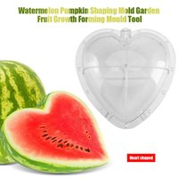 Square / Heart-shaped Wassermelone Shaping Form Garten Frucht Growth Forming Tool Kürbis Modellierung