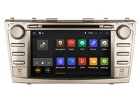 Android Car DVD Navigation GPS pour Toyota Camry 2007 2008 2009 2010 avec Radio BT USB MP3 WiFi Stereo Video 4Core ou 8Core