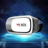 Commercio all'ingrosso - VR BOX ii 2 Vetri 3D VRBOX Versione aggiornata Virtual Reality 3D Vetri video Supporto Android IOS PC