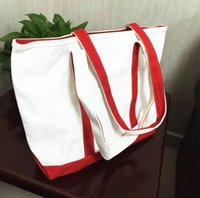 Wholesale Cloth Bags Zippers - Wholesale-Cloth bags Shoulder Bags Plain canvas bag female handbag one shoulder bag shopping bag free shopping