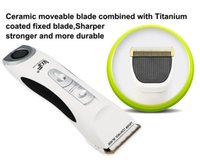 Wholesale Mens Hair Clippers - Competitive Price Ceramic Rechargeable Mens Beard Shaver Hair Clipper Trimmer Excellent Quality Professional Creamic Tourmaline Hair Clipper