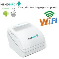 Wholesale Barcode Printers - New Memobird WiFi Thermal Printer barcode Printer Wireless Remote Phone any language and photo
